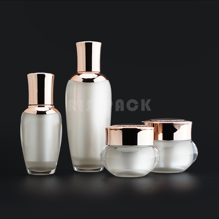 Luxury Acrylic Plastic Bottle Set