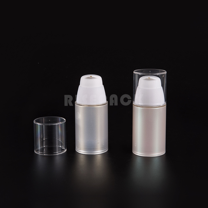 Circular Acrylic Lotion bottle