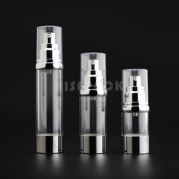 Round Airless Lotion bottle