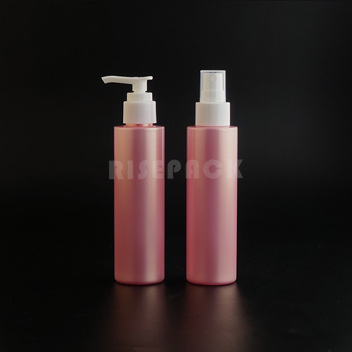 PET Set Spray and Lotion Bottle Flip and Disc Cap